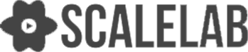 desaturated logo of scalelab