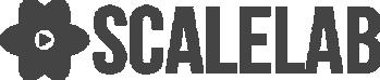 desaturated logo of scalelab