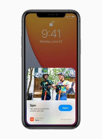 iOS 14's App Clips are fast and easy to discover and allow users to get a part of an app the moment they need it.